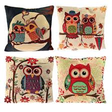 pillow covers for sofa set of 4 sofa pillow covers u2013 totally owls