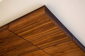 Laminate Floor On Ceiling True Wood Ceiling Panels Wood Veneer Ceiling Panels