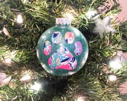 lilly pulitzer ornament etsy