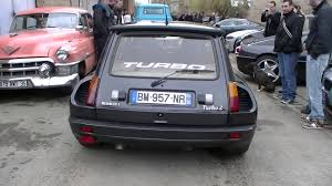 renault r5 turbo renault r5 turbo 2 sound hd youtube