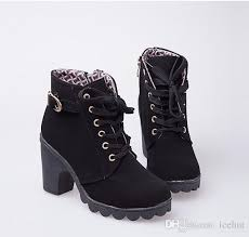 cheap womens boots cheap autumn winter boots high quality solid lace up