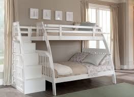 functional full over queen bunk bed with stairs design u2014 john
