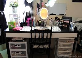 Makeup Organizer Desk by March 2013 Getglammedup