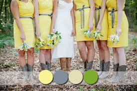 yellow bridesmaid dress popular rustic bridesmaid dresses colours for your country