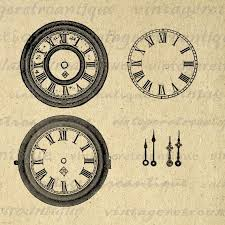 printable antique clock faces blank digital clock face clip art 57