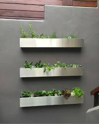 modern wall planters modern wall mounted plant holders to