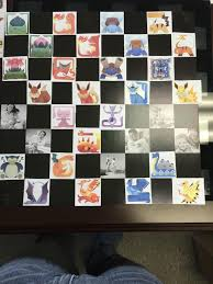 diy pokemon chess board album on imgur