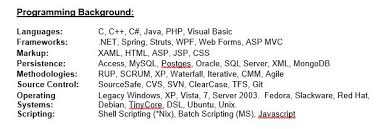 Agile Resume Become A Software Specialist With The Help Of Your Resume Dzone