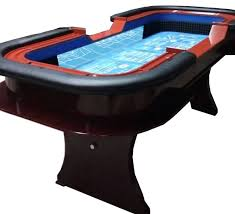 Crap Table For Sale In Stock 99 U0027 U0027 Craps Table With Extra Features