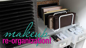 makeup re organization storage solutions for your collection