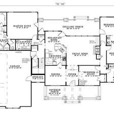 ranch floor plan 5 bedroom modular homesthe 5 bedroom ranch style house floor plans