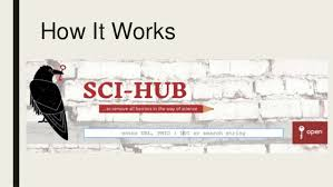 Sci Hub Access To Research Sci Hub And The Honor Code Ethical Dilemmas
