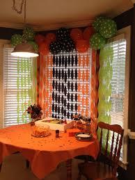 halloween party balloon backdrop party ideas pinterest