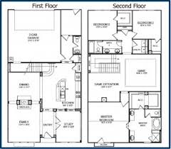 floor plans for two story homes floor plan small simple two story house plans homes zone simple 2