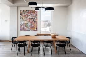 homy feeling within an industrial shell loft apartment in soho