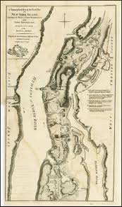Washington New York Map by A Topographical Map Of The Northn Part Of New York Island