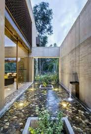 images about courtyard designs the smalls plus small for house landscaped gardens run the small glass bridges that connect