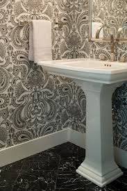 powder rooms with wallpaper shirley parks design bathrooms powder room bathroom wallpaper