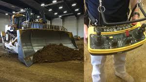remote controlled 900 horsepower caterpillar bulldozer youtube