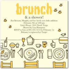 brunch invites wording baby shower brunch invitation wording iidaemilia