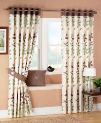 living room design living room curtains flower patern curtain