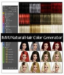 hair generator imvu natural hair color generator mirror image stock