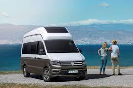 volkswagen concept van volkswagen to present crafter based california xxl motorhome