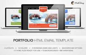 free premium html email newsletter template design prefix web