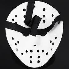 uk halloween jason voorhees friday 13th deluxe hockey mask fancy
