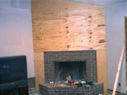 cover a brick fireplace how to cover a brick fireplace with tile