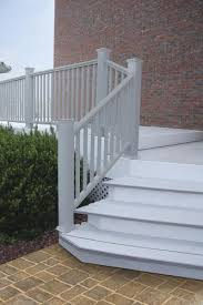 Fusion Banister Ultradeck Fusion 6 U0027 W X 3 U0027 H Stair Rail At Menards