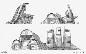 building concept building concepts video games artwork