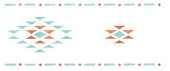 southwestern designs southwestern design wall stencil border