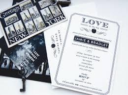 wedding invitations new york swiss cottage new york themed invites ny themed wedding 400