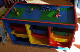 Legos Table Trofast To Lego Table In One Weekend Ikea Hackers Ikea Hackers