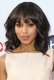 haircut for medium hair with bangs and layers 17 best ideas about
