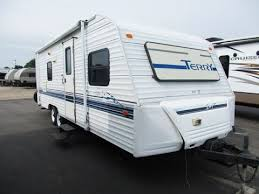 Fleetwood Wilderness Travel Trailer Floor Plans Haylettrv Com 1998 Terry Lite 24lz Used Travel Trailer By