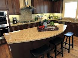 Kitchen Island Granite Countertop Genial Kitchen Island With Granite Countertop Rounded Counter Top