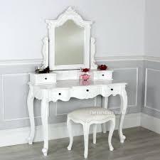 White Vanity Stool Makeup Table Without Mirror Dressing With Walmart Bedroom Vanities