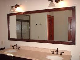 cottage bathroom mirror ideas white high gloss finish bathroom