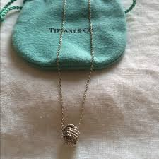 necklace pendant knots images 39 off tiffany co jewelry tiffany twist knot pendant from jpg