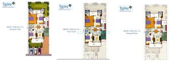 floor plans 1500 sq ft 3 bhk 1500 sq ft independent floortypical floor for sale in