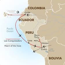 map peru galapagos luxury travel to peru galapagos bolivia
