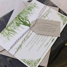 tree wedding invitations oak tree wedding invitation vintage green