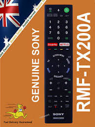 sony android tv remote genuine sony 4k hdr with android tv remote rmftx200a rmf tx200a