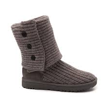 ugg womens knit boots womens ugg cardy knit boot gray 581686