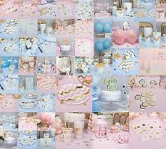 baby shower tableware pattern works baby shower decorations tableware pink blue