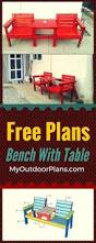how to build a 2x4 garden bench easy to follow free plans ideas