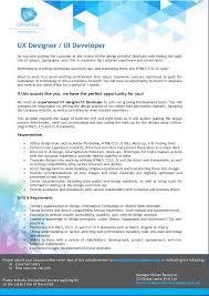 Css Resume Ui Developer Resume The Best Cv U0026 Resume Templates 50