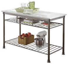 marble top kitchen islands marble top kitchen cart home design and decorating